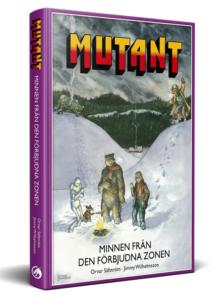 Framsida av MUTANT - MINNEN FRÅN DEN FÖRBJUDNA ZONEN