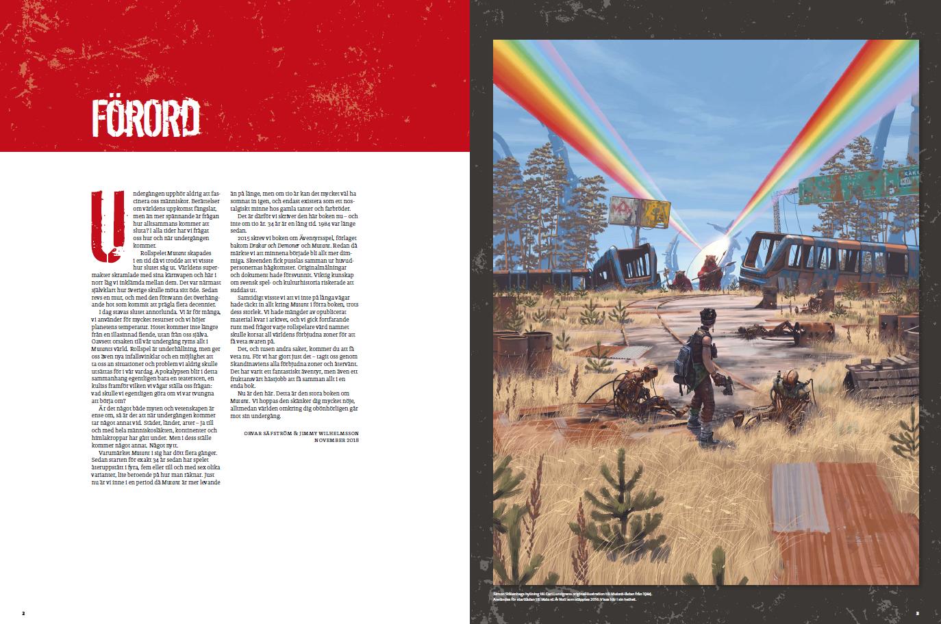 Förord till Mutant-boken. Klicka för PDF-version.