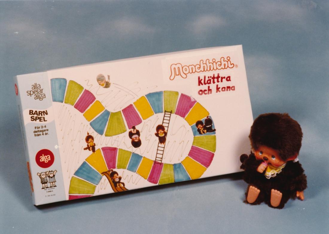 ALGA var generalagent för de populära Monchhichi-dockorna och utvecklade givetvis även ett spel.